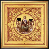 Renaissance Oculus I Art by  Raphael