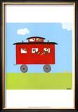Circus Train IV Art by Erica J. Vess