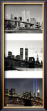 World Trade Center Memorial Triptych Print by Igor Maloratsky