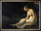 Melancholy, 1801 Art by Constance Marie Charpentier