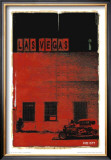 Las Vegas, Vice City in Red Posters by Pascal Normand
