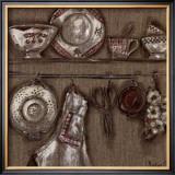 Cuisine et Ciseaux Prints by Myriam Berthoud