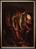 Sait Joseph Charpentier Prints by George De La La Tour