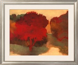 The Lowland Tree Prints by Lawrence Mathis