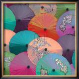 Parasols I Posters by Jon Hart Gardey