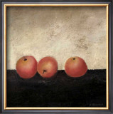 Red Apples Print by Anouska Vaskebova
