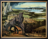 Saint Jerome on the Road Prints by Joachim Patinir
