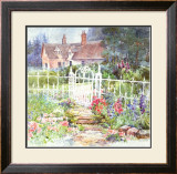 Pope Mill Gate Prints by Dawna Barton