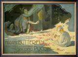 Madama Butterfly, c.1904 Prints by Adolfo Hohenstein