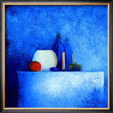 Still Life in Blue II Posters by Anouska Vaskebova