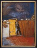 Claro de luna Imágenes por Marc Chagall