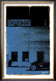 Chicago, Vice City in Blue Posters by Pascal Normand