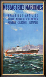 Mess Maritimes - Marseille Antilles Prints by Gachons