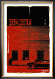 Detroit, Vice City in Red Prints by Pascal Normand