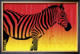Zebra Dawn Art by Susann &amp; Frank Parker
