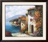 Mediterranean Villa I Posters by Matt Thomas