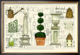 Garden Collection II Art by Ginny Joyner