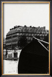 Over the Boat, Seine River, Paris Print by Manabu Nishimori