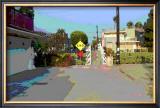 End, Venice Beach, California Framed Giclee Print by Steve Ash