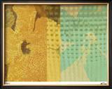 Nodoka Flowers III Limited Edition Framed Print by M.J. Lew
