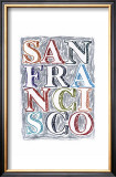San Francisco Prints by Robert Littleford