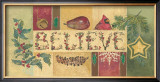 Believe Posters by Anita Phillips