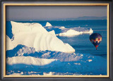 Illulissat Groenland Print by Georges Bosio