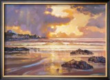 FIERY SKYE, SANDEND Limited Edition Framed Print by ED HUNTER