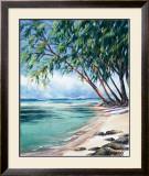 Coral Beach Prints by Lois Brezinski