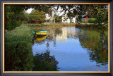 Yellow Boat Framed Giclee Print by Jack Heinz