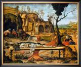 Lamentations sur le Christ Mort Posters by Vittore Carpaccio