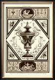 Sepia Pergolesi Urn I Print by Michel Pergolesi
