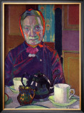 Portrait of Mrs. Mounter Prints by Harold Gilman