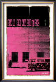San Francisco, Vice City in Pink Print by Pascal Normand