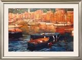 Anchored Boats, Portofino Posters by Philip Craig