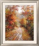 Autumn Trail Posters by Tan Chun