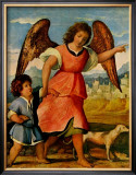 Tobias and the Angel Prints by Palma Il Vecchio