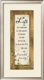 Life Isn't Measured Posters by Jennifer Pugh