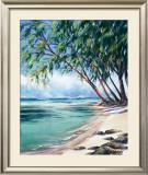 Coral Beach Art by Lois Brezinski