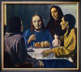 Les Disciples d'Emmaus Prints by Han Van Meegeren