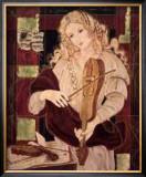 Praise (Violin) Posters by Christine Garner