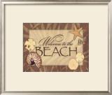 Beach Print by Stephanie Marrott