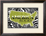 America Rocks Print by Marilu Windvand