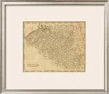 Netherlands, c.1812 Framed Giclee Print by Aaron Arrowsmith