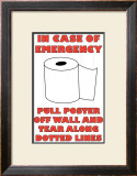 In Case of Emergency II Posters by Russ Lachanse