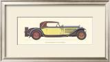 Austro-Daimler, 1931 Prints by Antonio Fantini
