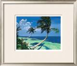 Beckoning Palms Print by Scott Westmoreland