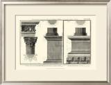 Cornice Tempio di Vesta Posters by Giovanni Battista Piranesi