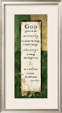 God Grant Me the Serenity Print by Jennifer Pugh