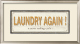 Laundry again! Posters by Alain Pelletier